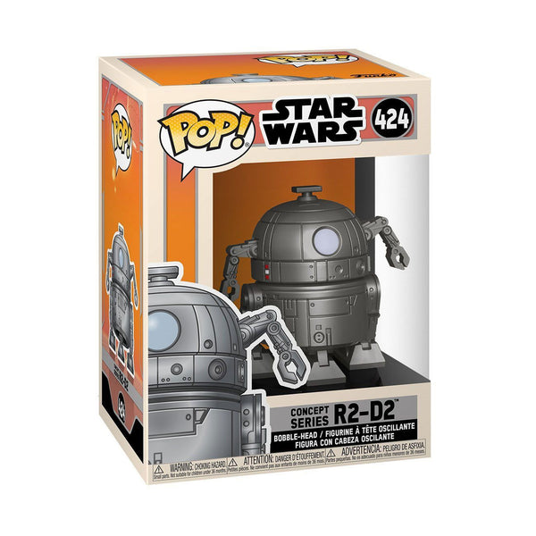 R2-D2 #424 Star Wars Concept Funko POP! Star Wars [PRE-ORDER FOR JAN 2021* DELIVERY] POP! Funko