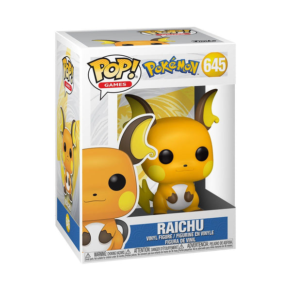 Raichu #645 Pokemon Funko POP! Games [PRE-ORDER FOR MAR 2021* DELIVERY] POP! Funko