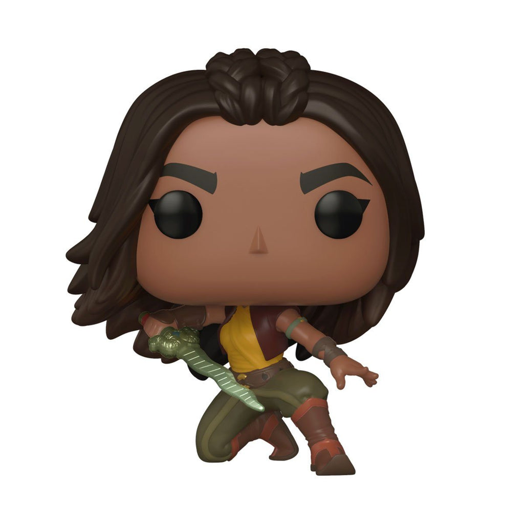 Raya (Warrior Pose) #999 Raya and the Last Dragon Funko POP! Disney [PRE-ORDER FOR FEB 2021* DELIVERY] POP! Funko