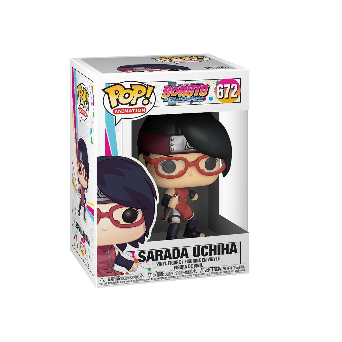 Sarada Uchiha #672 Boruto Funko POP! Animation Pop! Funko