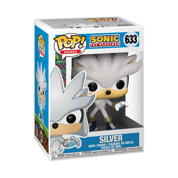 Silver the Hedgehog - Sonic the Hedgehog 30th Anniversary Funko POP! Games [PRE-ORDER] Pop! Funko