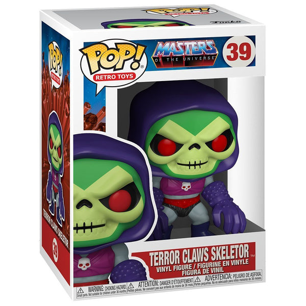 Skeletor with Terror Claws #39 Masters of the Universe Funko POP! Retro Toys Pop! Funko