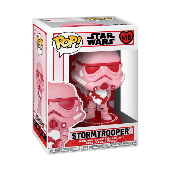 Stormtrooper with Heart #418 Valentines Funko POP! Star Wars [PRE-ORDER FOR FEB 2021* DELIVERY] POP! Funko