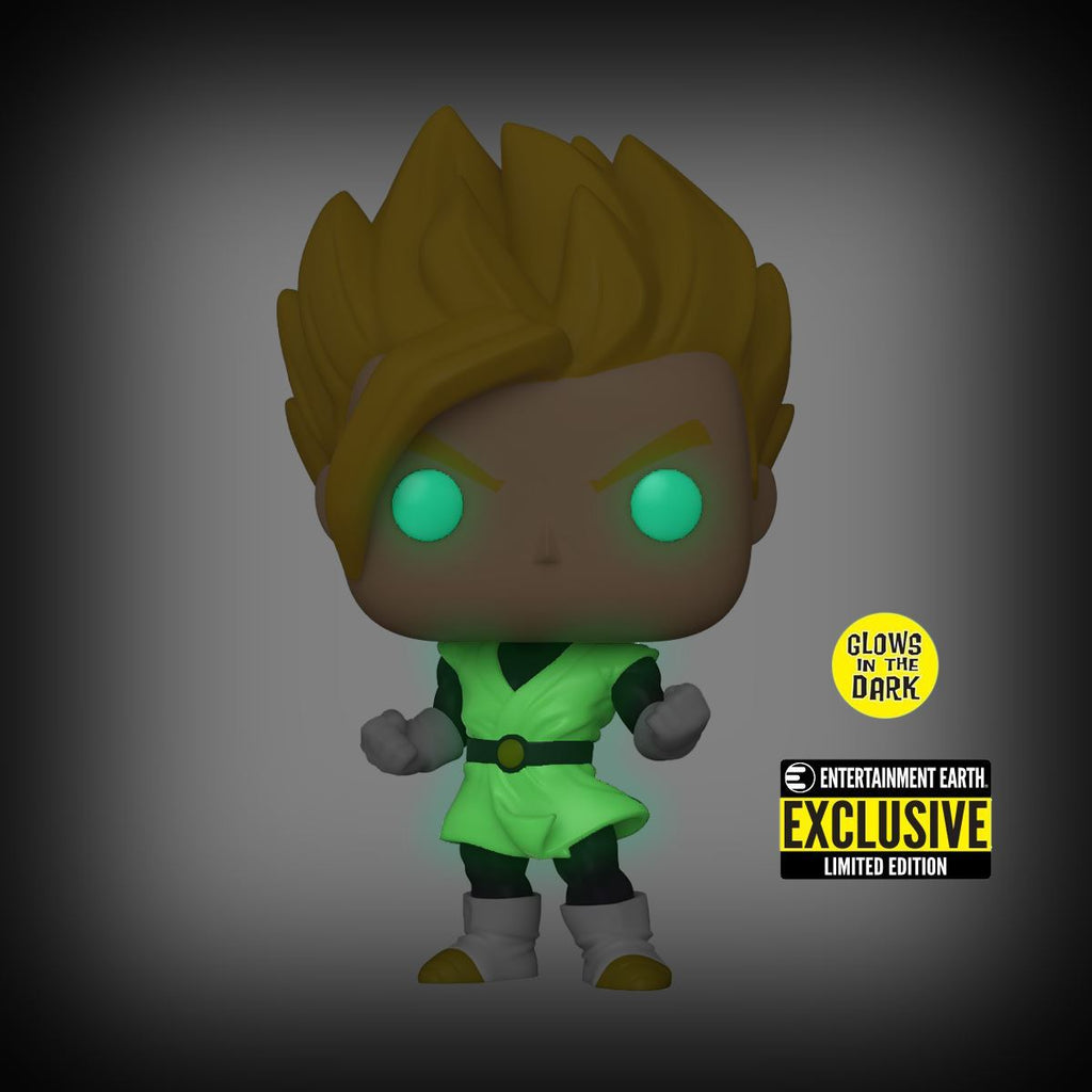 Super Saiyan Gohan - Glow in the Dark - Entertainment Earth Exclusive Dragon Ball Z S8 Funko POP! Animation Pop! Funko