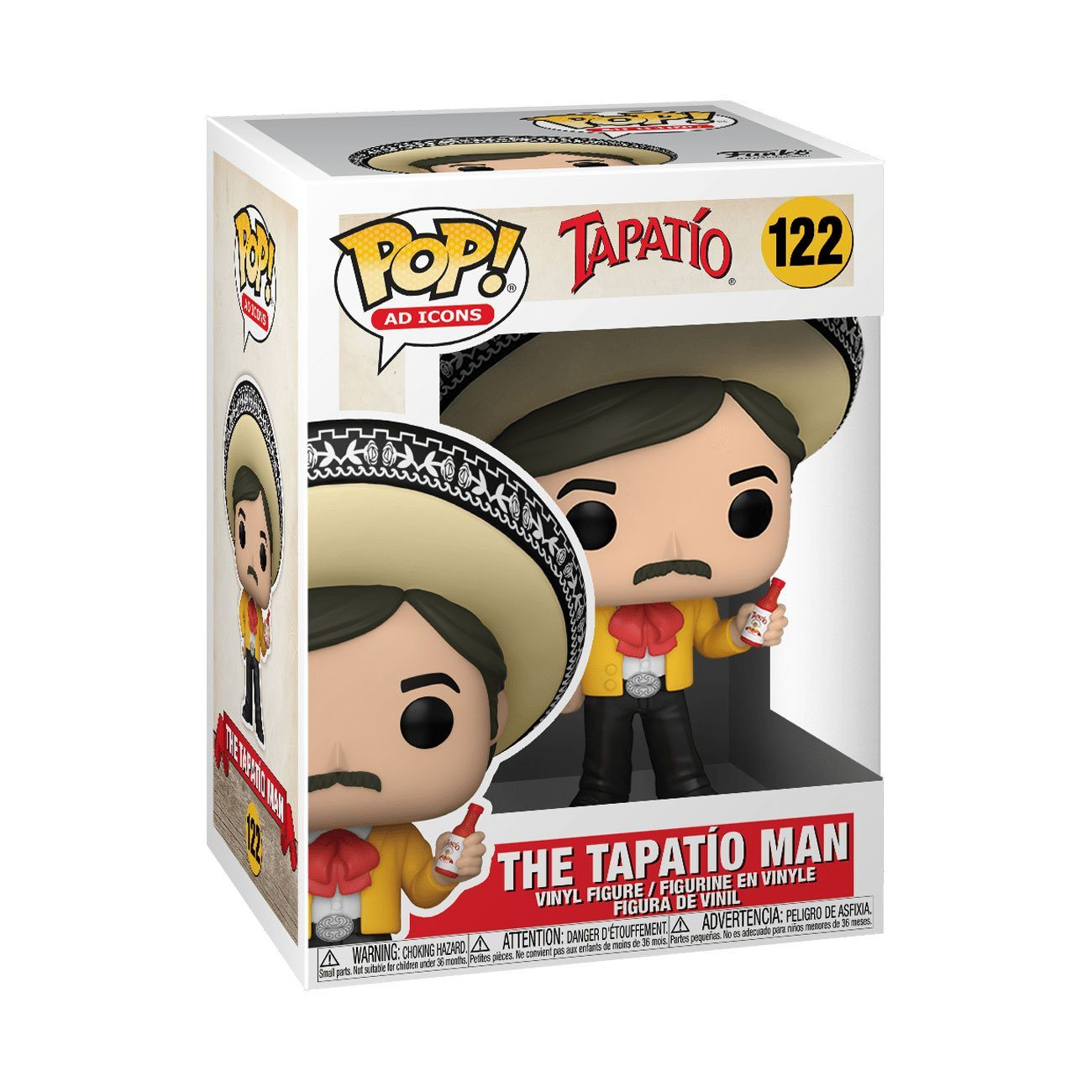 Tapatio Man #122 Tapatio Funko POP! Ad Icons [PRE-ORDER EXPECTED SUMMER 2021*] POP! Funko