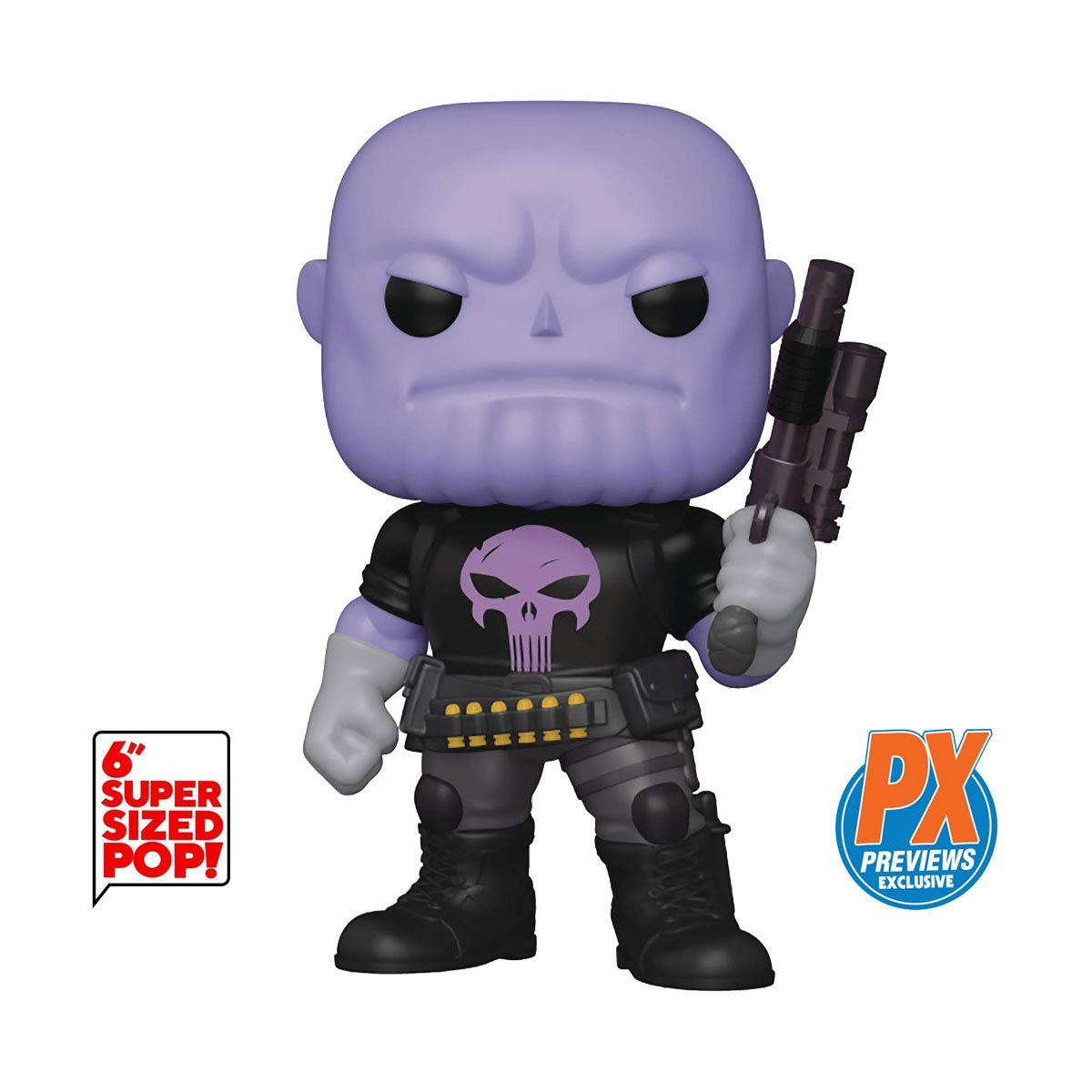 "Thanos as Punisher Earth 18138 6"" Super-Sized PX Exclusive Funko Pop! Marvel [PRE-ORDER] Pop! Funko"