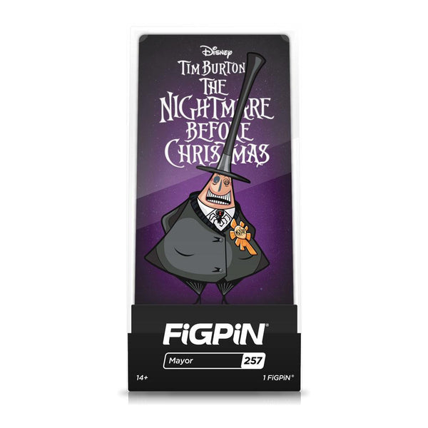 The Mayor #257 The Nightmare Before Christmas FiGPiN Classic FiGPiN Classic FiGPiN
