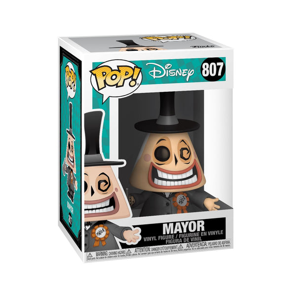 The Mayor #807 Nightmare Before Christmas Funko Pop! Disney [PRE-ORDER] Pop! Funko