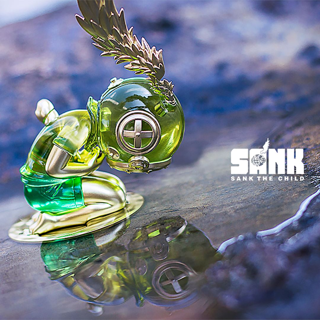 The Void - Spectrum Series - Gem - Resin Statue by Sank Toys [PRE-ORDER] Sank the Child Sank Toys