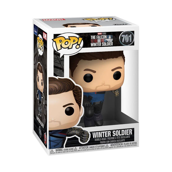 The Winter Soldier #701 The Falcon and Winter Soldier Funko POP! Marvel [PRE-ORDER FOR JAN 2021* DELIVERY] POP! Funko