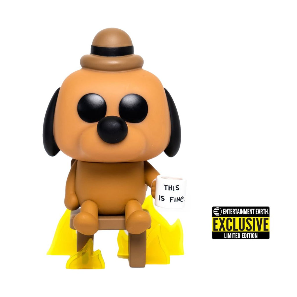 This is Fine Dog Entertainment Earth Exclusive Funko POP! [PRE-ORDER] Pop! Funko