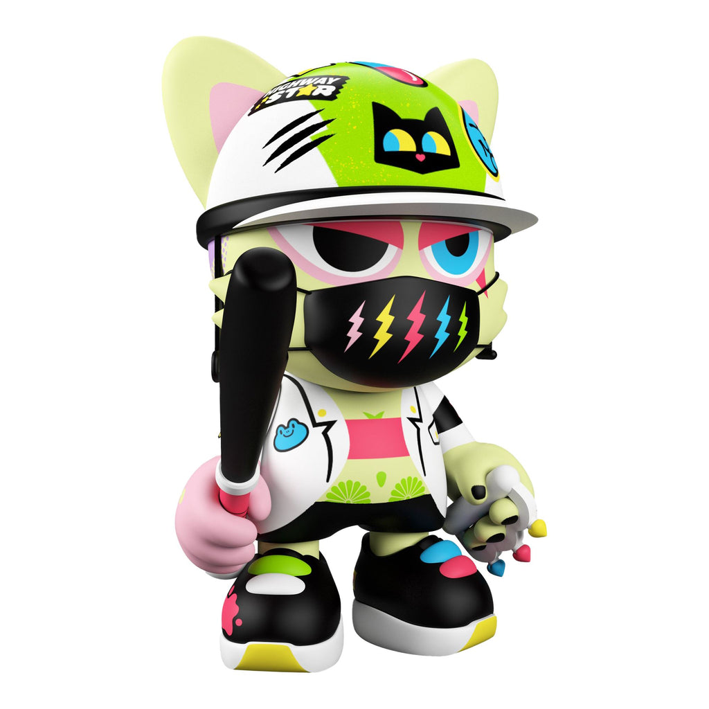 Toxic Nights SuperJanky by Tado & Superplastic 8-inch Vinyl Toy Superplastic