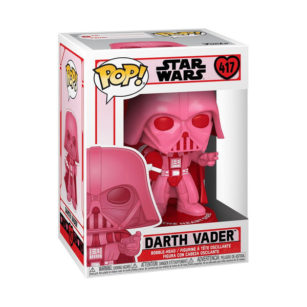 Vader with Heart #417 Valentines Funko POP! Star Wars [PRE-ORDER FOR FEB 2021* DELIVERY] POP! Funko