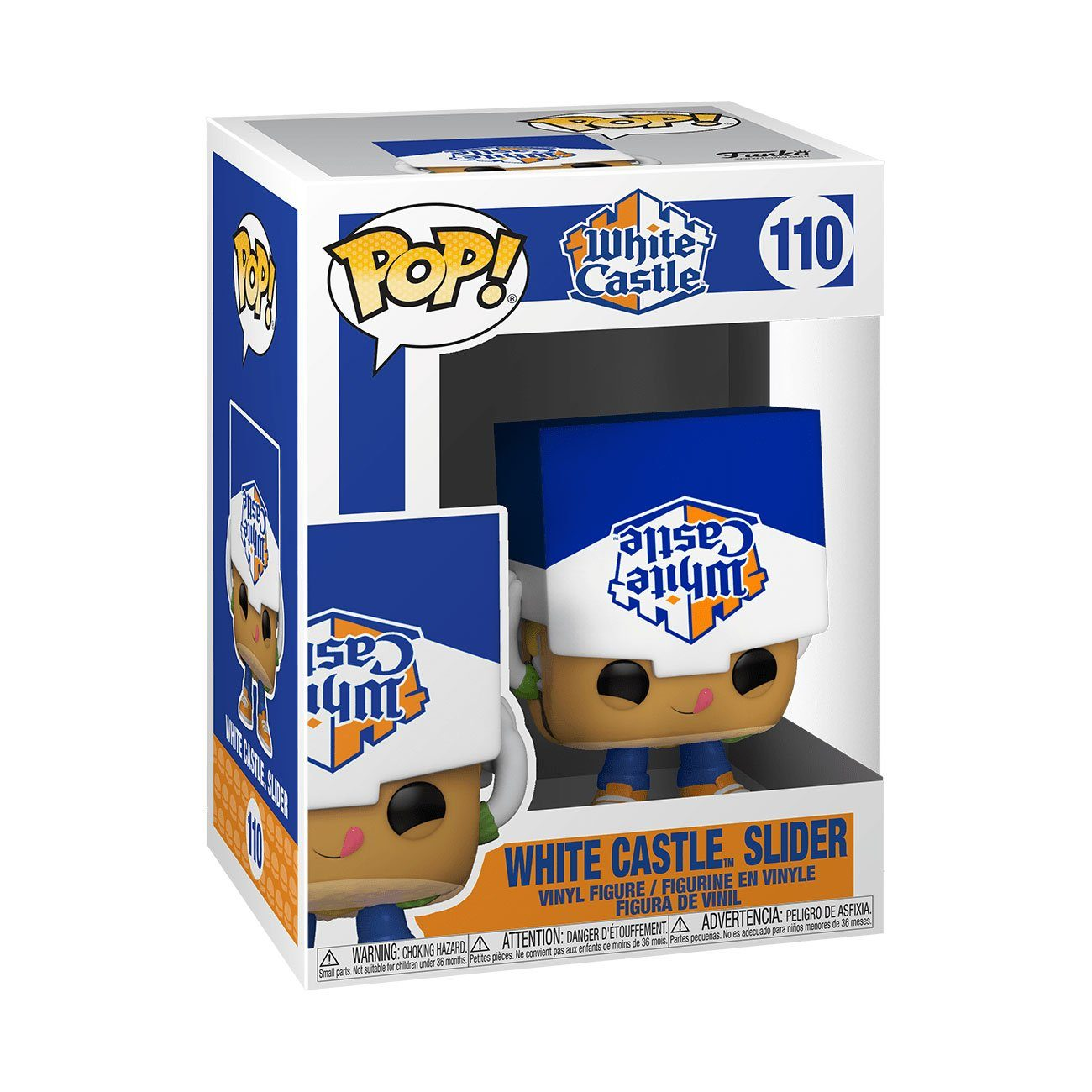 White Castle Slider #110 Funko POP! Ad Icons [PRE-ORDER FOR ESTIMATED SUMMER 2021* DELIVERY] POP! Funko