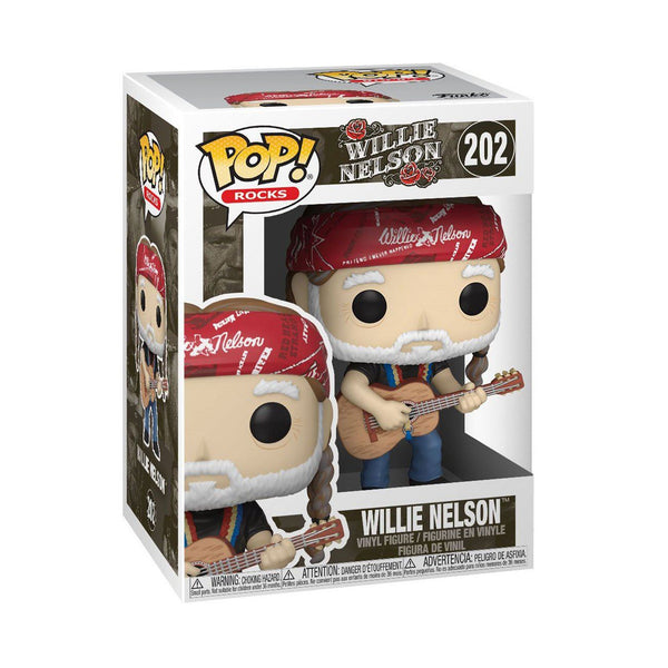 Willie Nelson #202 Funko POP! Rocks [PRE-ORDER FOR JAN 2021* DELIVERY] POP! Funko