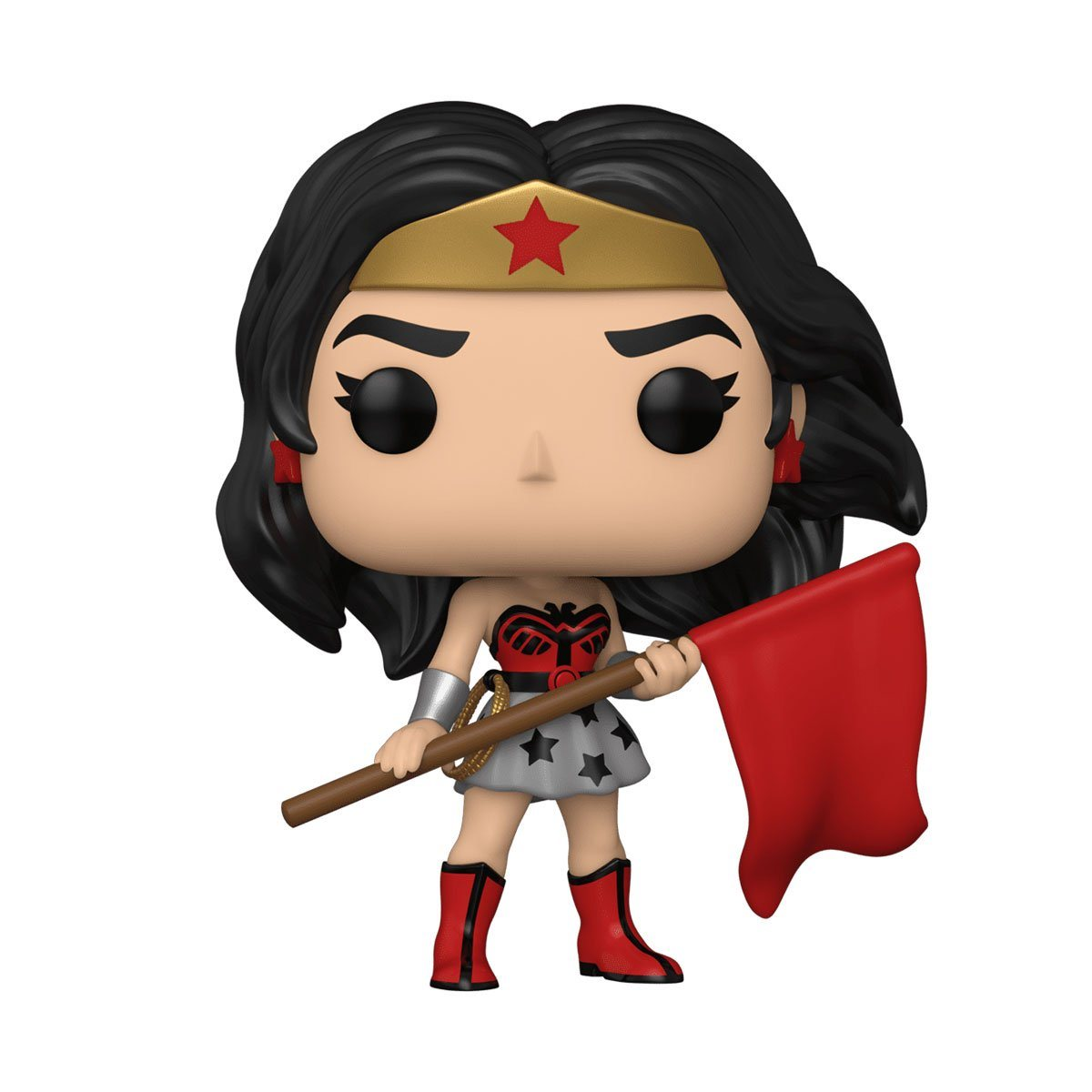 Wonder Woman (Superman: Red Son) #392 Wonder Woman 80th Anniversary Funko POP! Heroes [PRE-ORDER FOR ESTIMATED SUMMER 2021* DELIVERY] POP! Funko