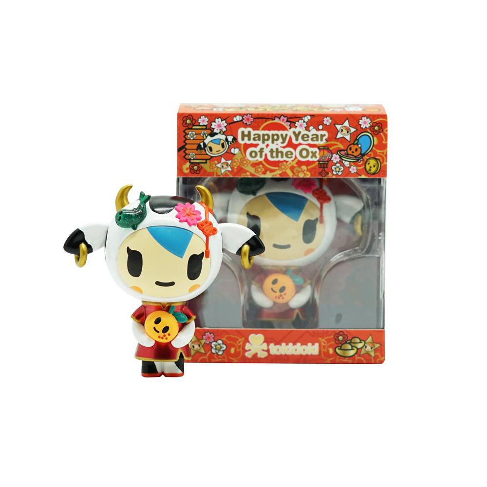 Year Of The Ox 2021 Mozzarella Vinyl Figure by tokidoki 3-inch Vinyl Figure tokidoki