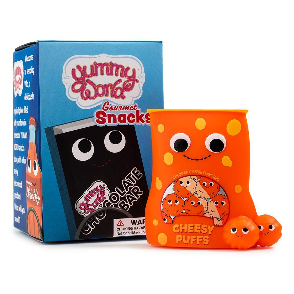 Yummy World Gourmet Snacks Mini Series by kidrobot Blind Box kidrobot Sealed Case of 24