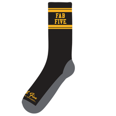 Fab Five Socks - Black