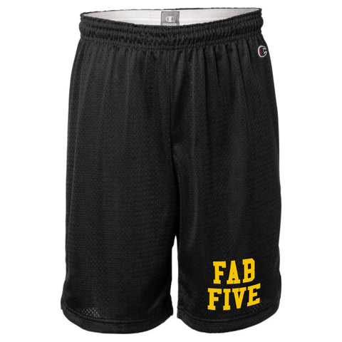 Fab Five Shorts - Black