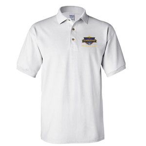 JRLA Men's Polo - White