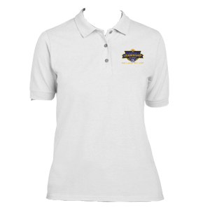 JRLA Women's Polo - White