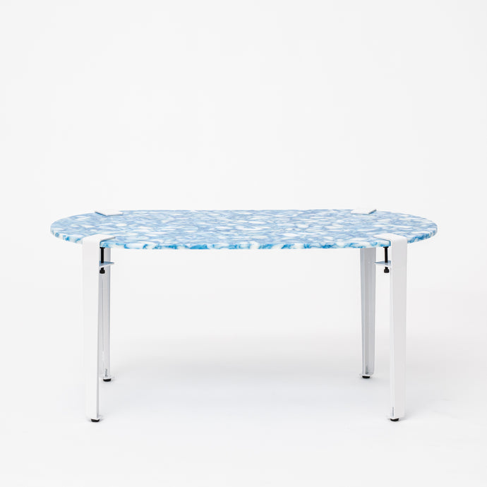 Coffee Table - Marbled Blue
