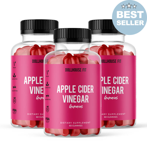 Apple Cider Vinegar Gummies - 3 Month Supply