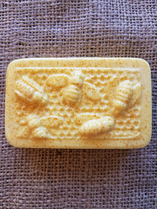 Rectangle Honey Bee - Cucumber Melon Shea Butter