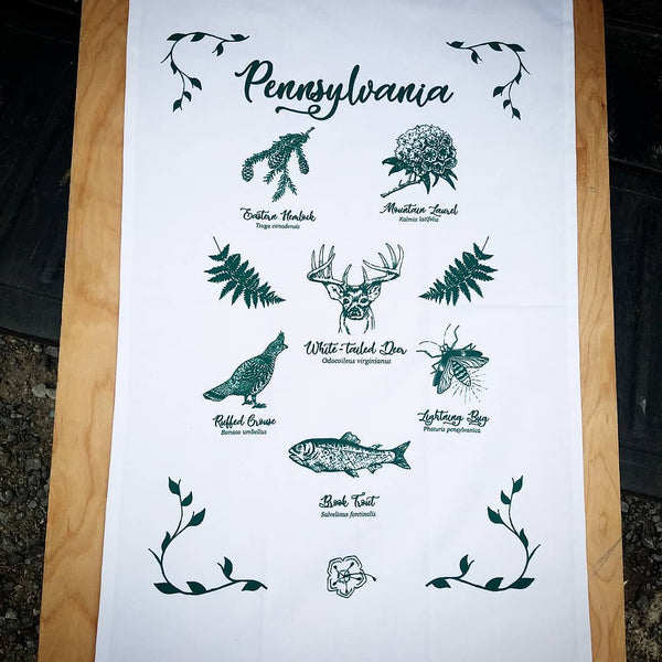 Pennsylvania Tea Towel