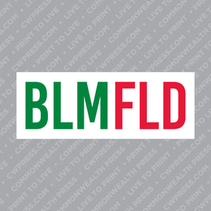 Bloomfield Sticker