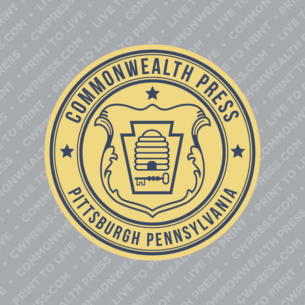 Commonwealth Press Beehive Sticker