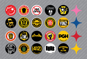 HARDHAT - Mix & Match Sticker Pack