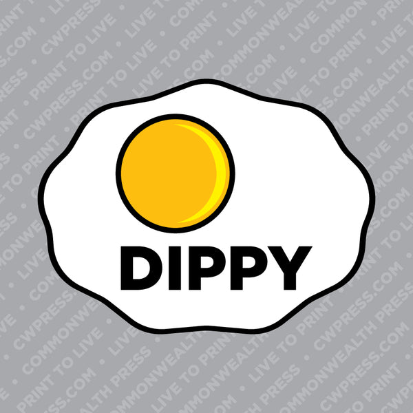 Dippy Sticker