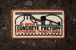 Frank Bryan Embroidered Patch
