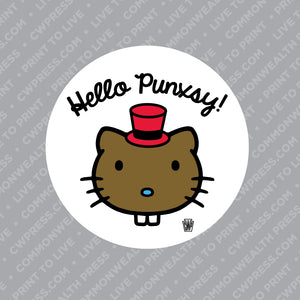 Hello Punxsy Sticker