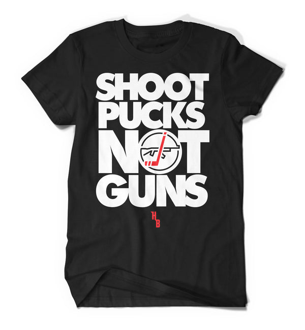 Shoot Pucks Not Guns