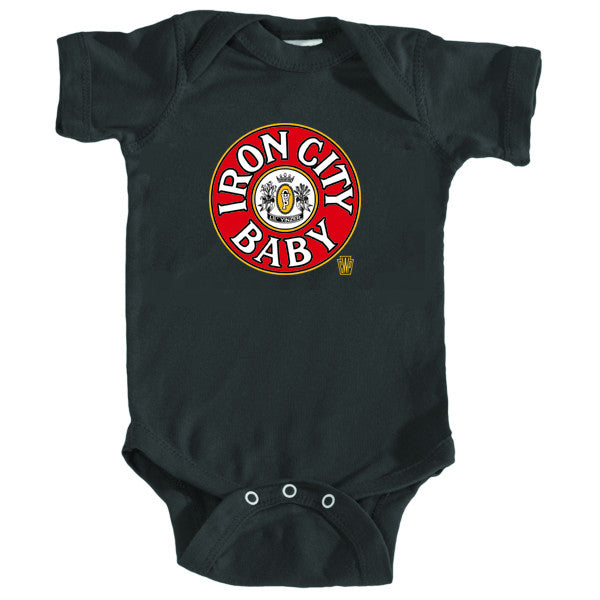 Iron City Baby Onesie & Toddler T-shirt