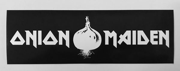 Onion Maiden Sticker