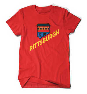 PITTSBURGH PENNSYLVANIA INCLINE KIDS T-SHIRT