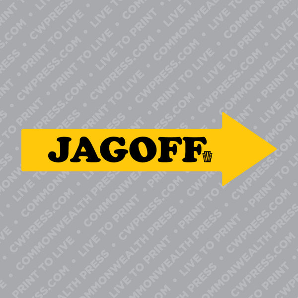 Jagoff Sticker