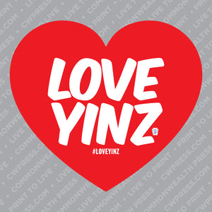 Love Yinz Sticker