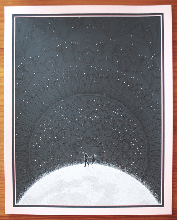 Dancing On The Moon Art Print