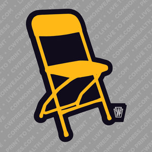 Parking Chair Sticker