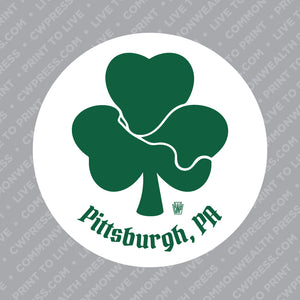 Shamrock Rivers Sticker