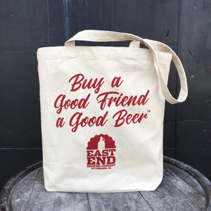 East End Beer Tote Bag