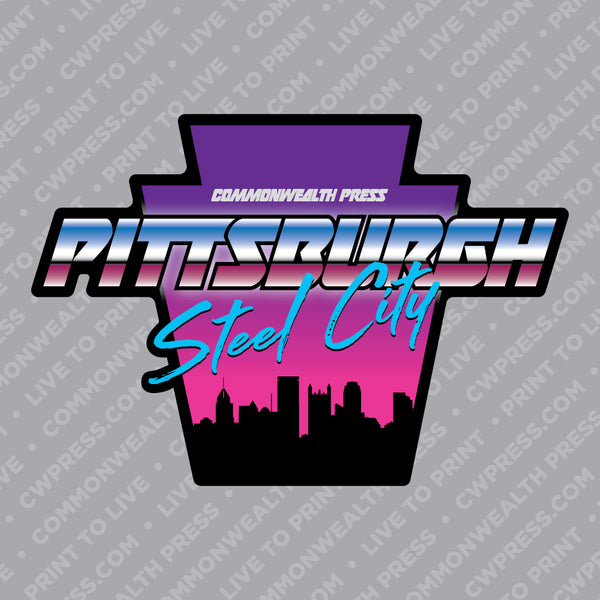 Pittsburgh Steel City Sticker
