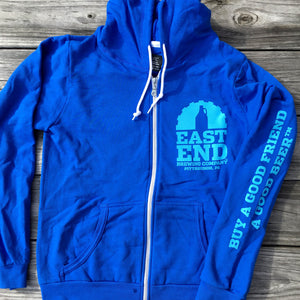 East End Ladies Zip-up