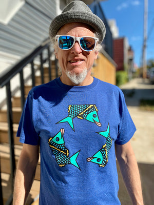 Recycle Fish Short Sleeve