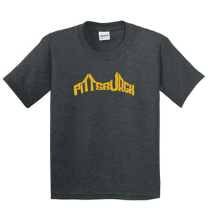Bridge Pittsburgh Kids & Toddler T-shirt